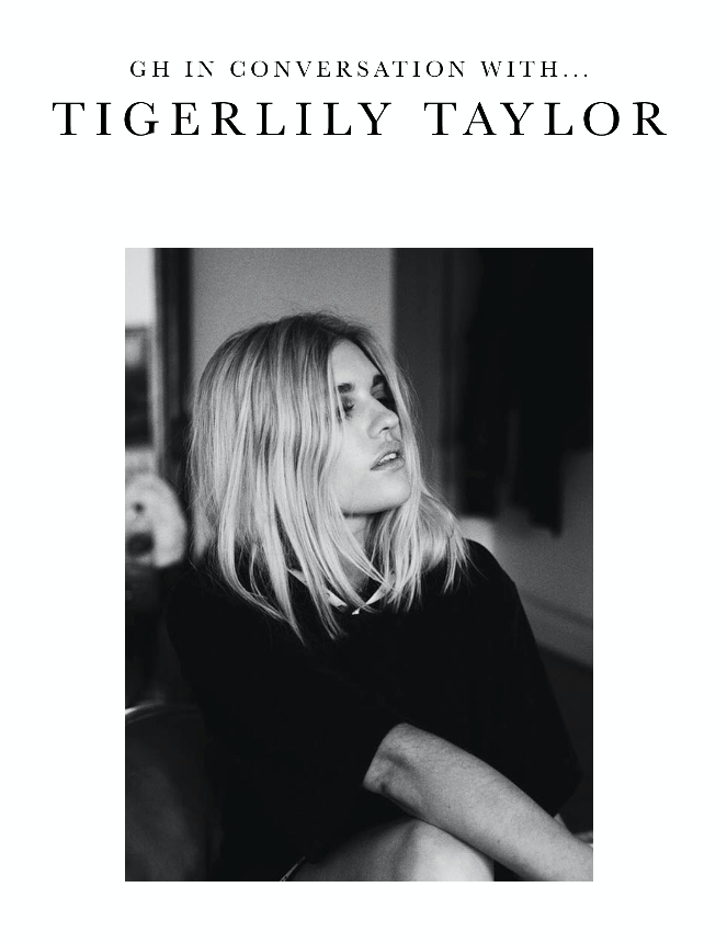 GH in Conversation with... Tigerlily Taylor