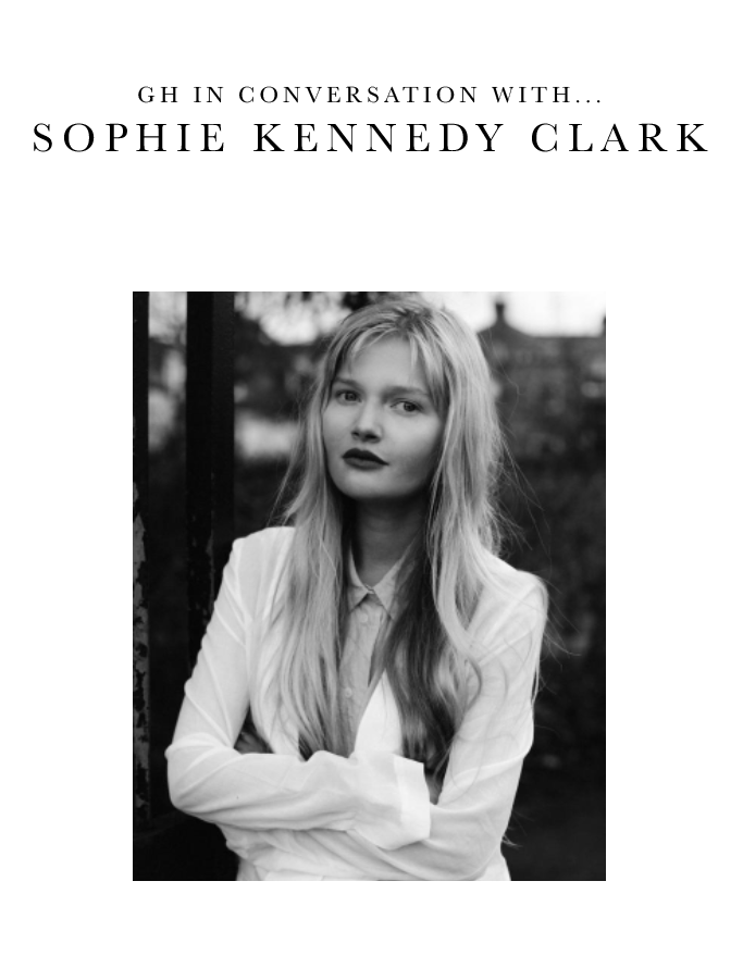 GH In Conversation With... Sophie Kennedy Clark