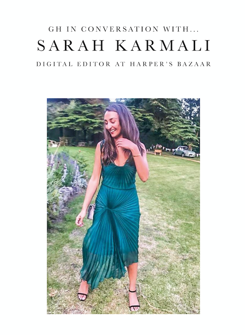 GH In Conversation With... Sarah Karmali