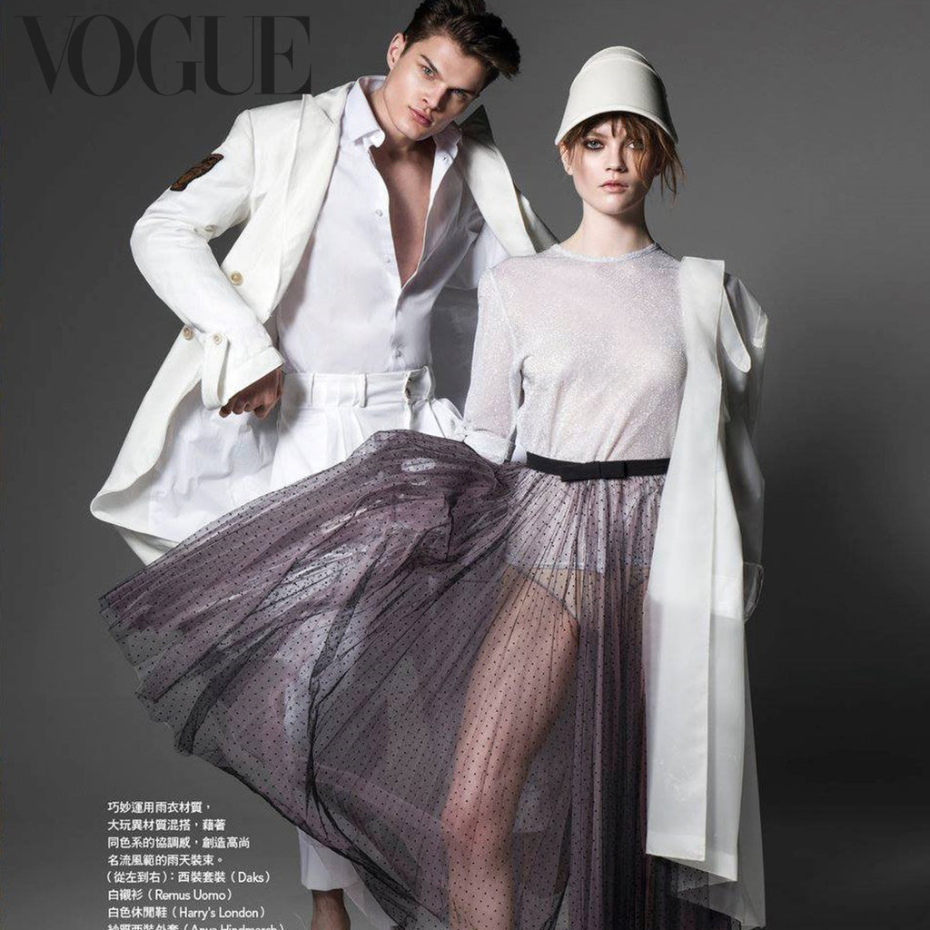 Georgia Hardinge Zinnia Blouse featured in Vogue, Taiwan