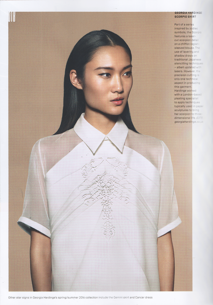 SS16 Scorpion Shirt in Wired Magazine