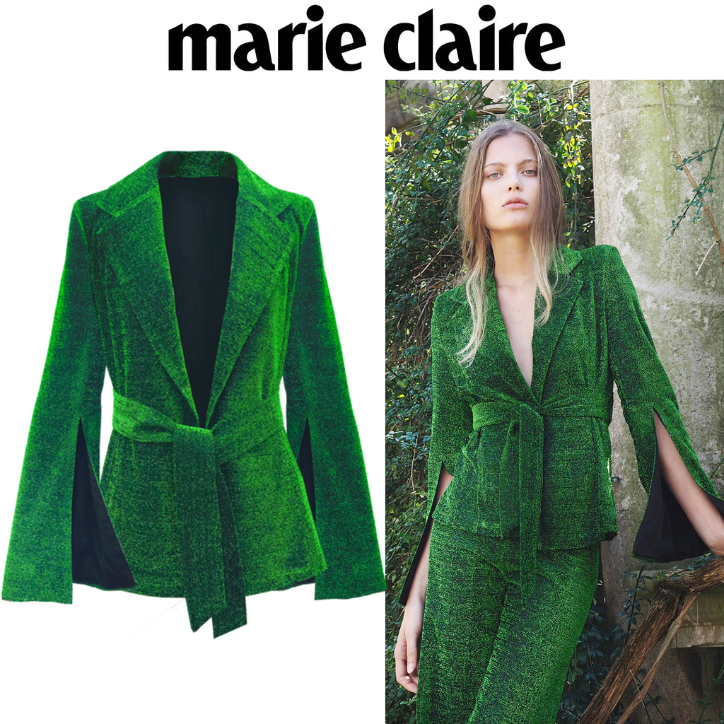 SS18 Palm Blazer featured on Marie Claire's Hot List