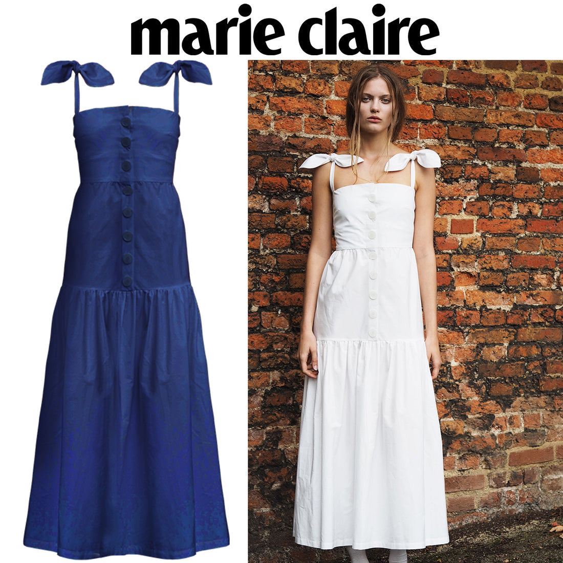 SS18 Primrose Dress featured by Marie Claire UK