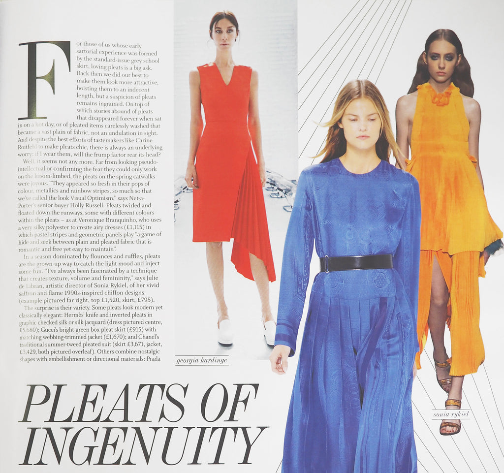 SS16 Hera Dress Featured in Financial Times Weekend