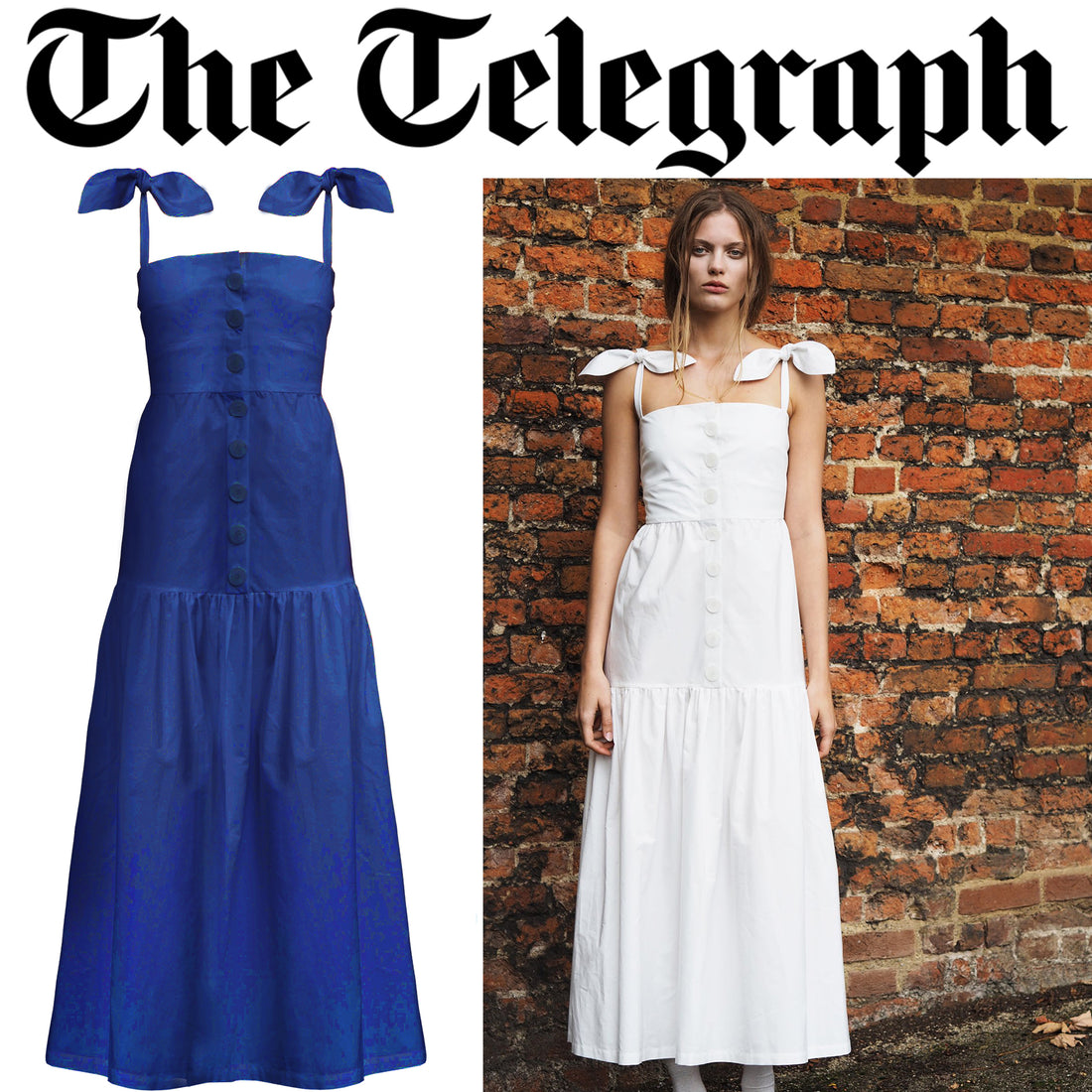SS18 Primrose Dress Featured by The Telegraph