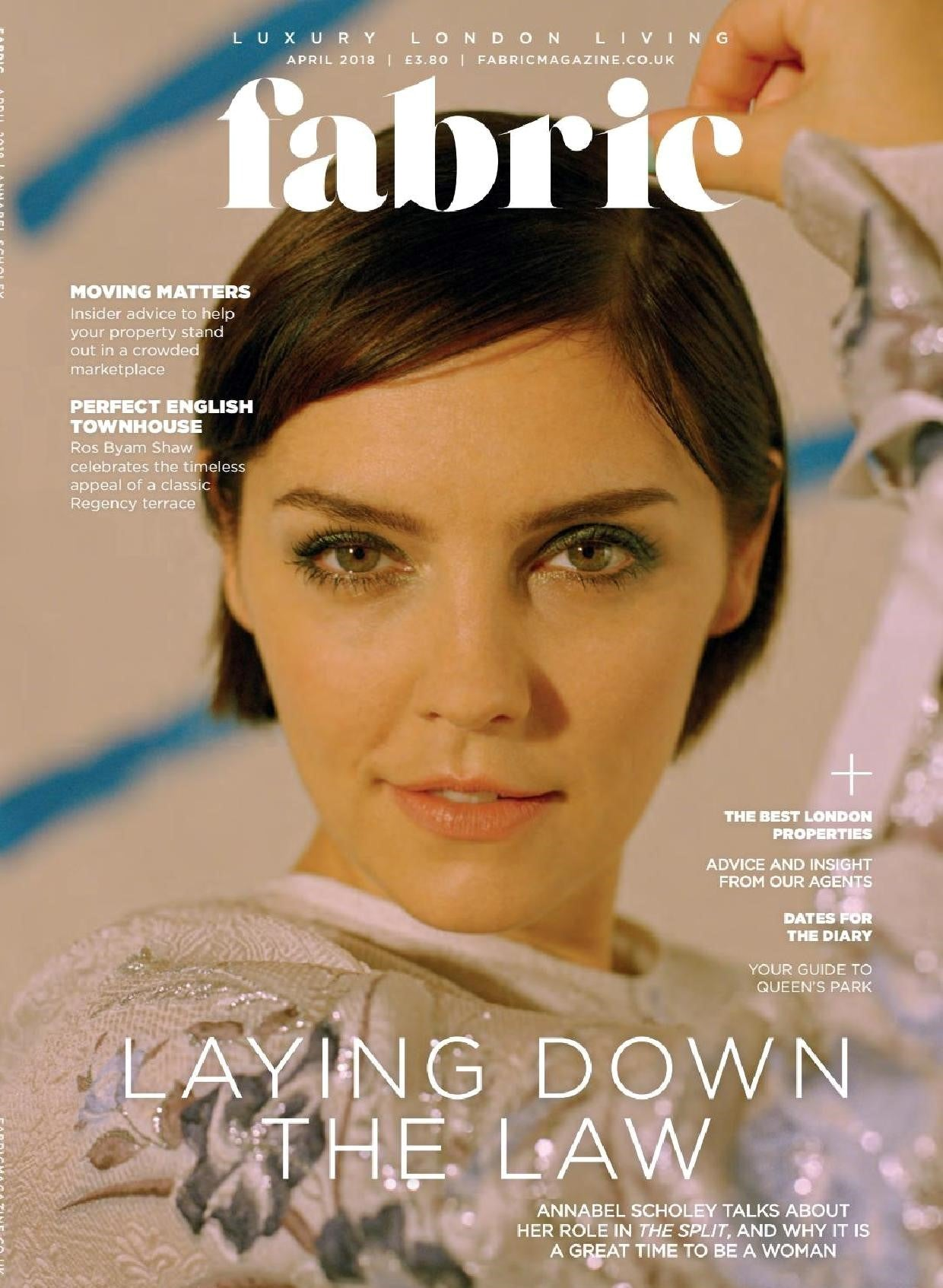 fabric magazine cover