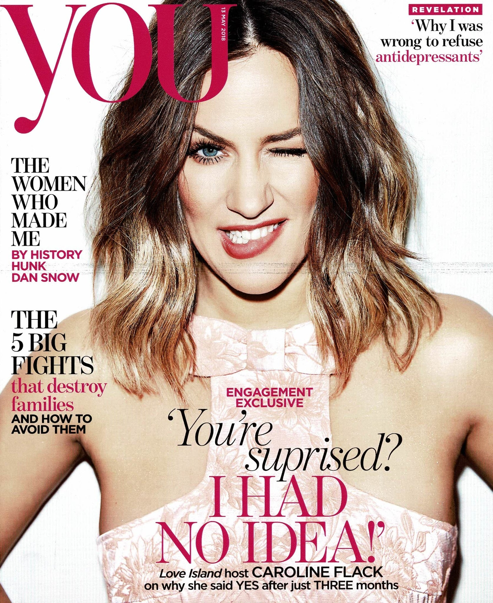 you magazine cover