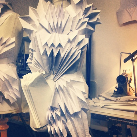 Georgia Hardinge paper sculpture