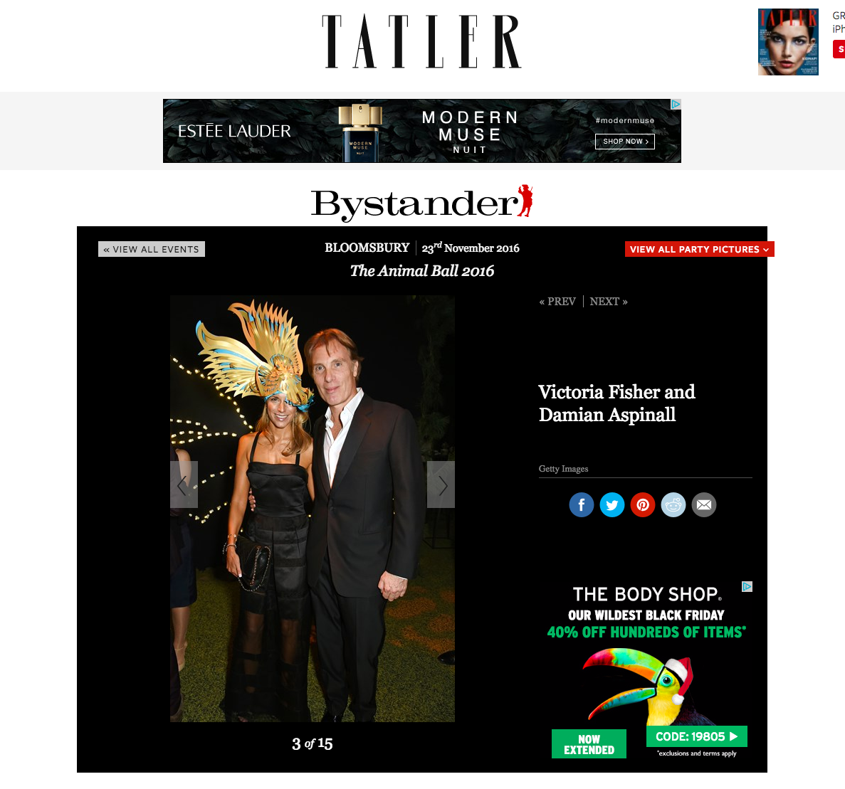 tatler bystander animal ball