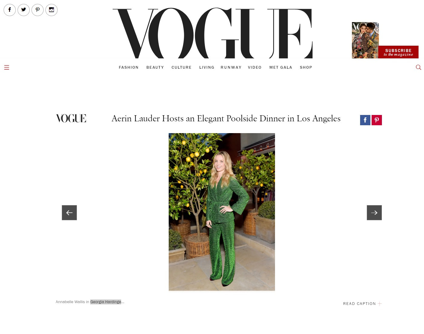 annabelle wallis vogue