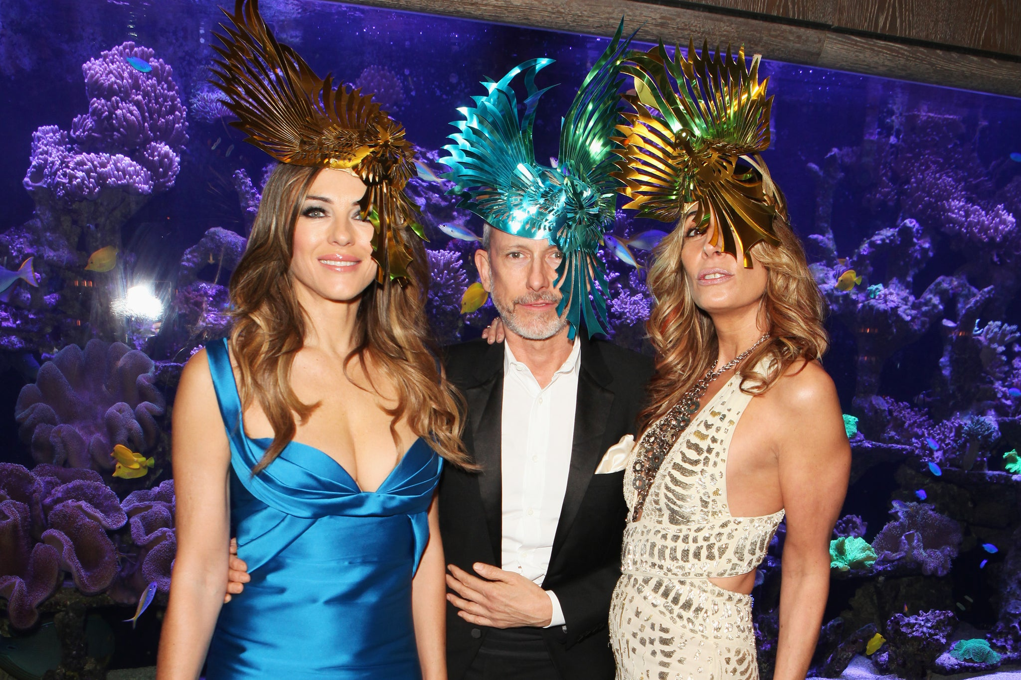 liz hurley georgia hardinge animal ball