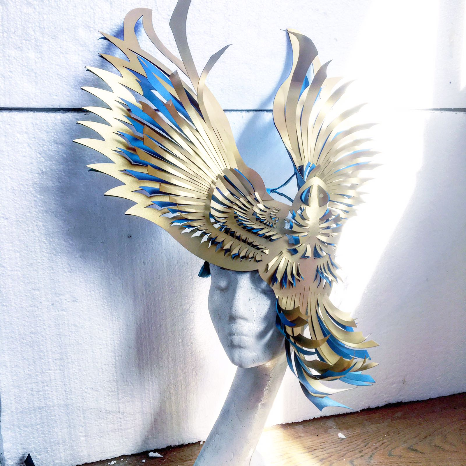sculptural mask bird hardinge