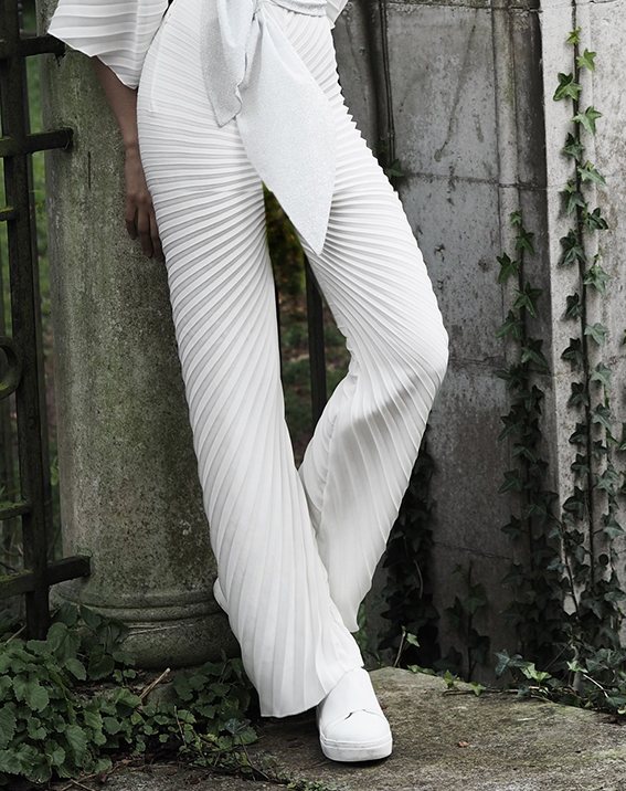 Georgia Hardinge Pleated Trouser