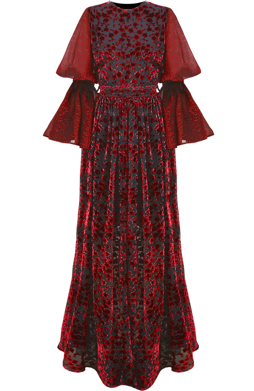 Scarlet Floor Length Dress