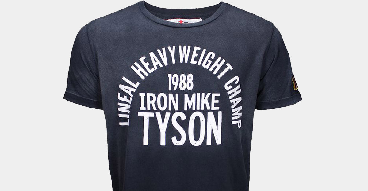 Roots of Fight Iron Mike Tyson '88 Sun Faded Shirt