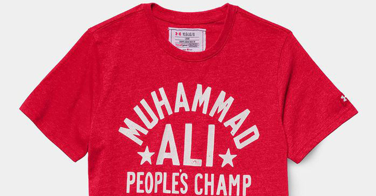 Under Armour Roots of Fight Muhammad Ali People's Champ Shirt