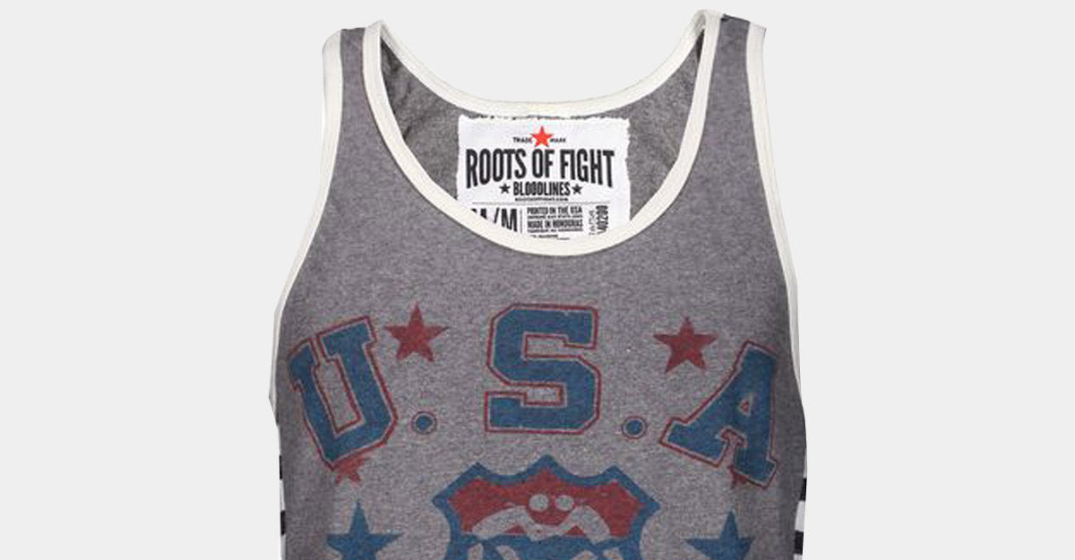 Roots of Fight USA Wrestling Tank
