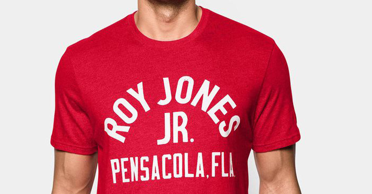 Under Armour Roots of Fight Roy Jones Jr. Shirt