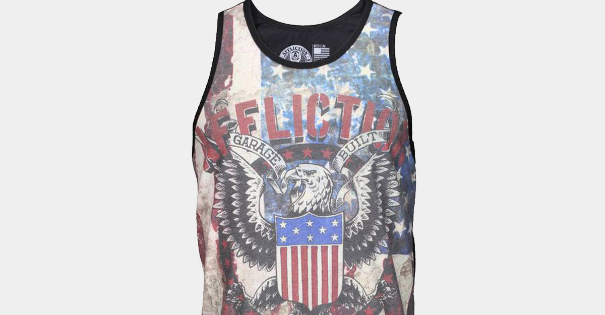 Affliction Eagle Clutch Tank