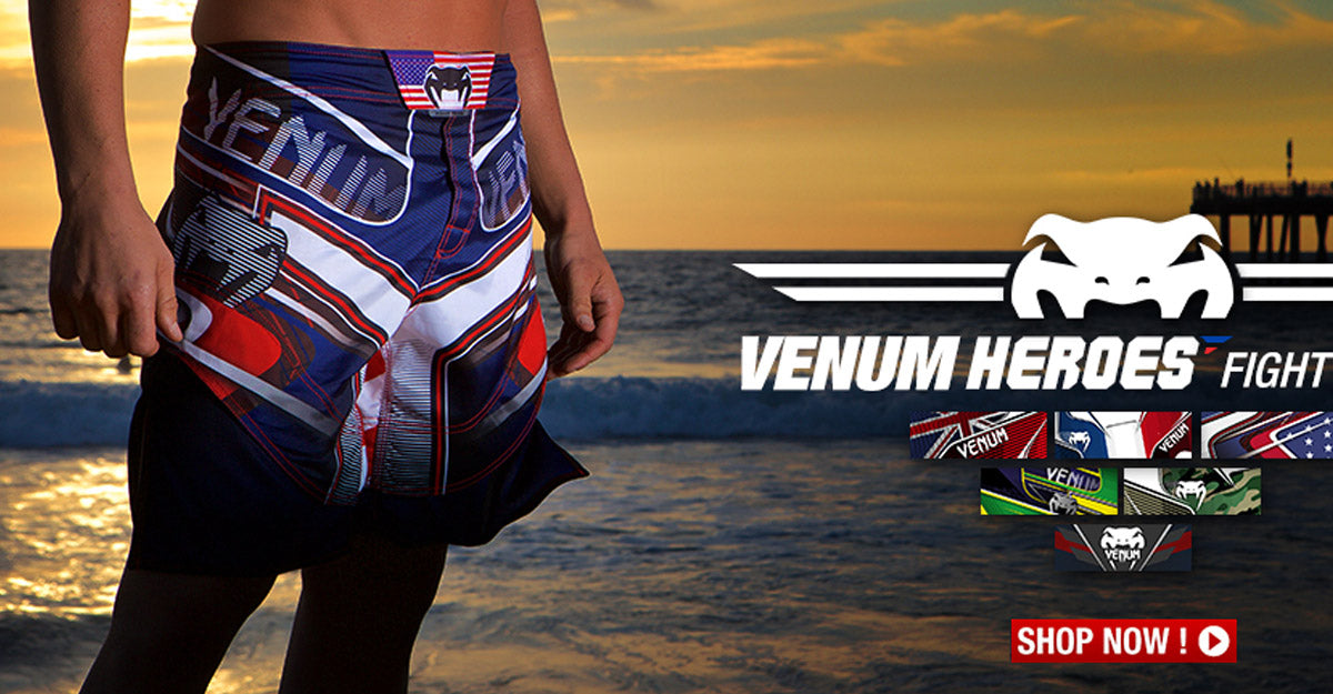 Venum Heroes Fight Shorts