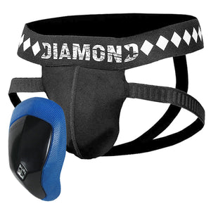 Diamond 4-Strap Jock and Cup