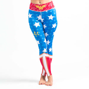 Fusion Fight Gear Wonder Woman Womens Spats Image