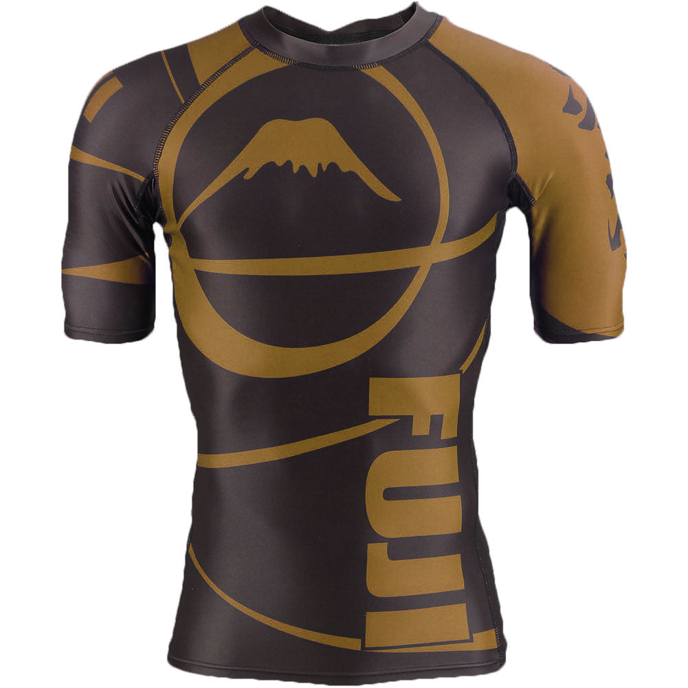 Image of Fuji Freestyle IBJJF Approved Ranked Short Sleeve Rashguards
