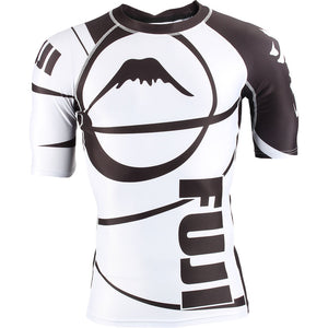Fuji Freestyle IBJJF Approved Ranked Short Sleeve Rashguards Image