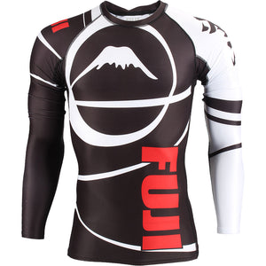 Fuji Freestyle IBJJF Approved Ranked Longsleeve Rashguards Image