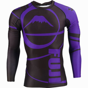 Fuji Freestyle IBJJF Approved Ranked Long Sleeve Rashguards Image