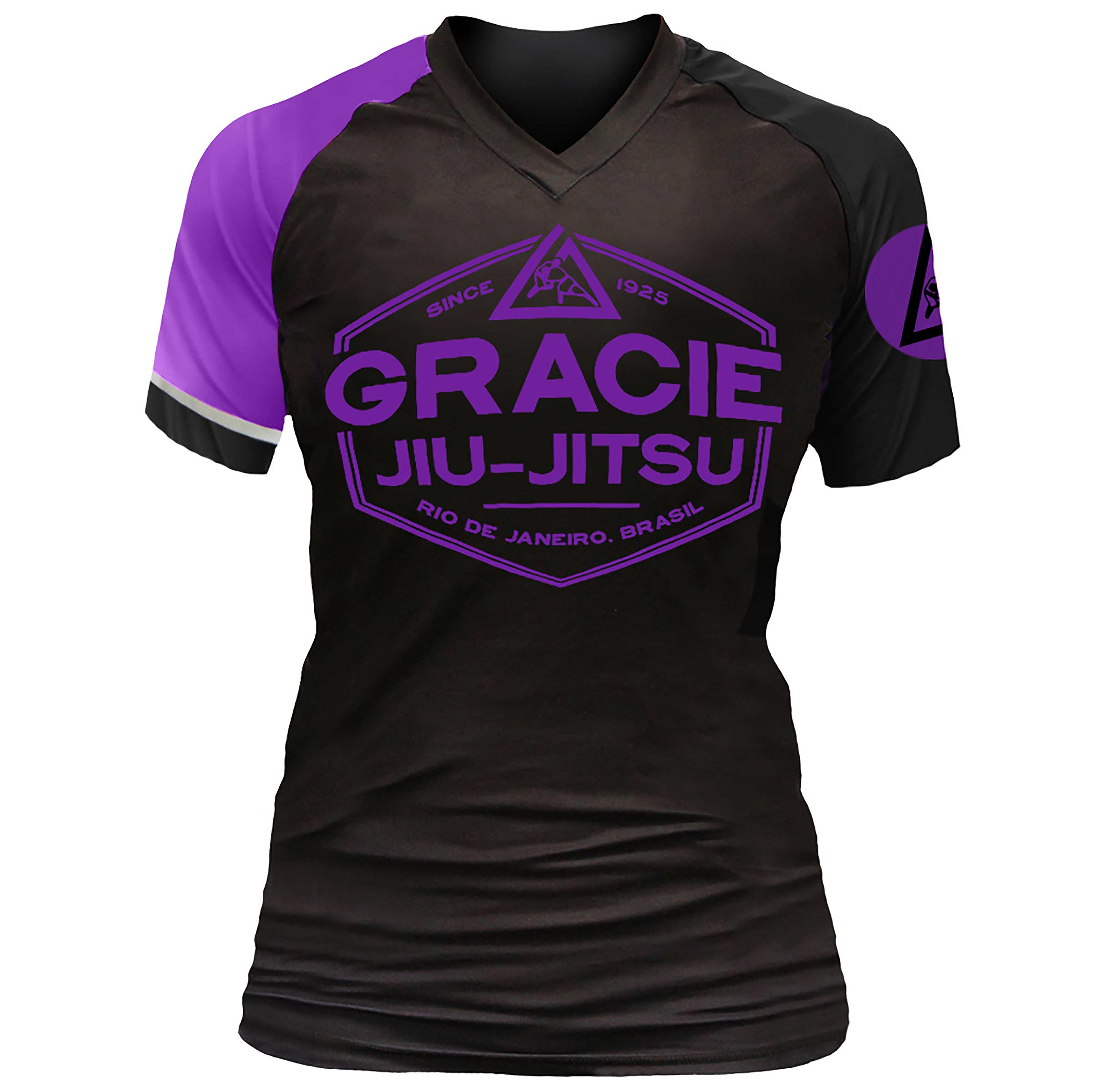 Gracie Jiu-Jitsu Womens Short Sleeve Rashguard