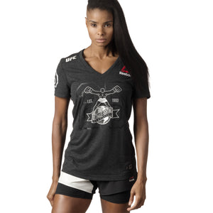 Reebok UFC Fight Kit Womens Walkout Jersey Image