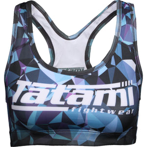 Tatami Ladies Geometric Bra - Blue Image