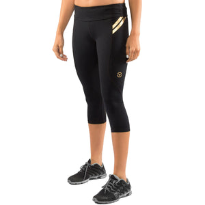 Virus Womens Bioceramic Compression Crop Pant (EAU8) Image