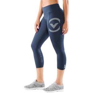 Virus Womens Stay Cool Compression 7/8 Length Pant (Eco28) Image