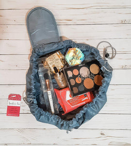 Make-Up Round Cinch Bags