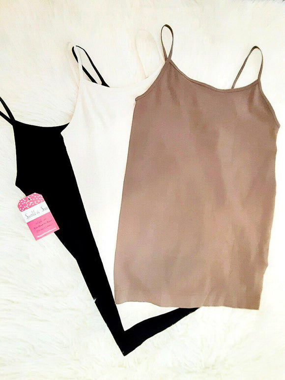 Seamless Light Weight Camisole Tank Tops