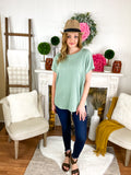 Sadie Sage Jacquared Cap Sleeve Knitted Top