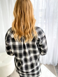 Regina Black Hooded Cardigan Jacket With Tie