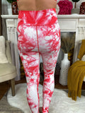 Peppa Peach Tie Dyed High Waist Leggings