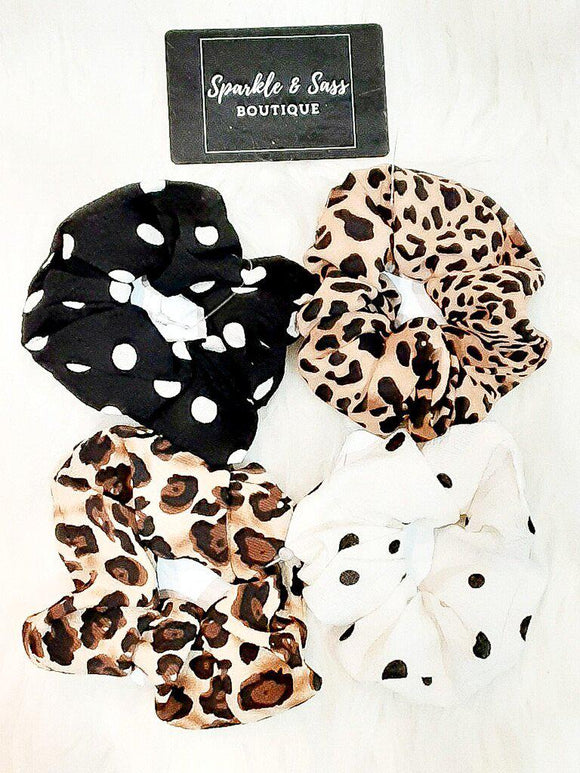 Sweet Scrunchies In Fun Prints