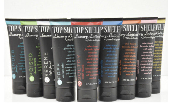Top Shelf Luxury Lotions