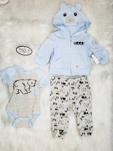 Grrrrr Baby Blue 3PC Adventure Set