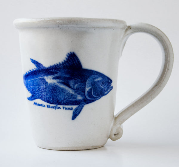 Chatham Pottery Atlantic Bluefin Tuna Decal Mug