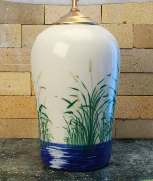 Chatham Pottery Beach Grass Large Lamp