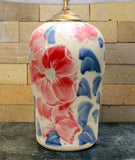 Chatham Pottery Beach Rose Large Lamp