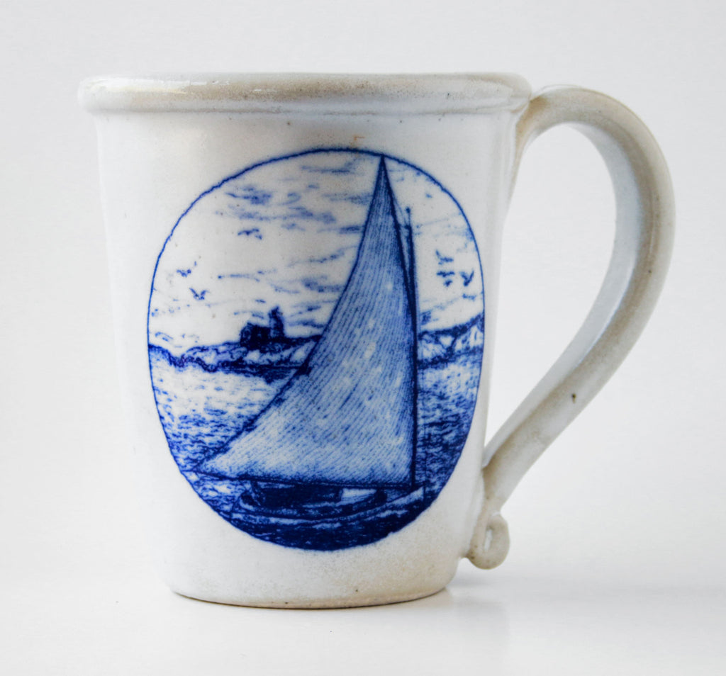 Mug - In Glaze Decal - Catboat