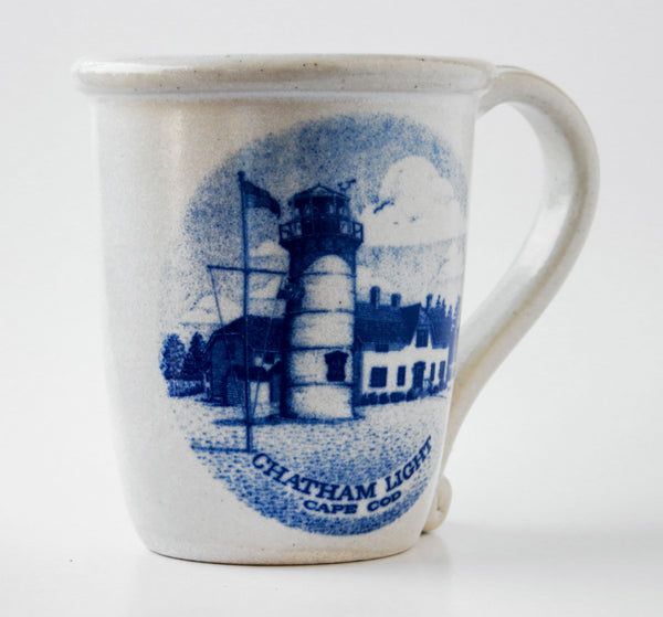 Chatham Pottery Chatham Light Decal Mug