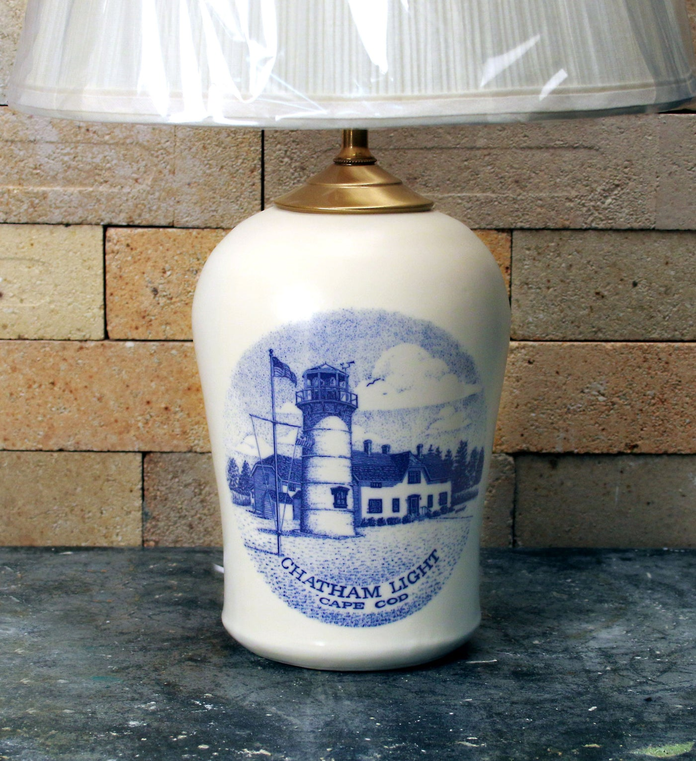 Chatham Pottery Chatham Light In-Glaze Decal Small Lamp