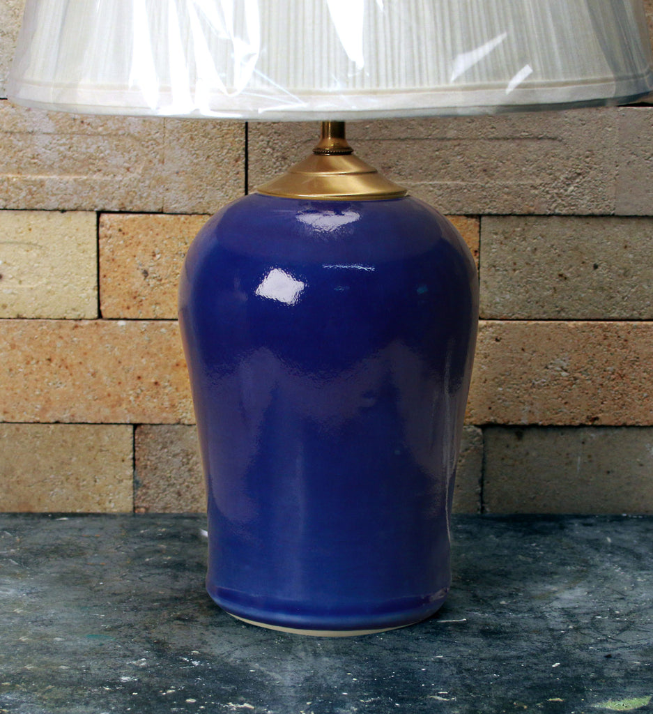 Chatham Pottery Cobalt Blue Small Lamp